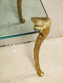 Maison Charles Palm Dore Bronze Low Table by Maison Charles - 1790615