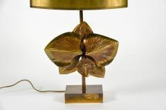 Maison Charles Rare bronze lamp by maison Charles - 1075780