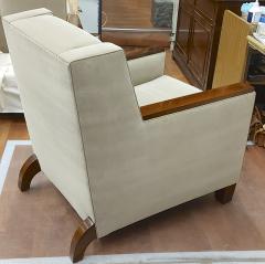 Maison Dominique Maison Dominique pair of refined Art Deco club chairs - 1692921