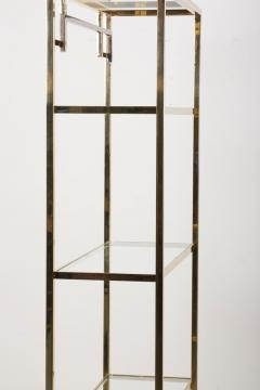 Maison Jansen 1 of 2 Brass and Gold Plated Bookshelf or tag re Attributed to Maison Jansen - 1130615