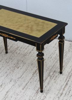 Maison Jansen 1960s Custom Made Long Console With Gold Leaf Top Finish - 1368088
