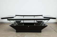 Maison Jansen MAISON JANSEN PETALES BLACK LACQUER COFFEE TABLE - 1235581