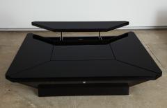 Maison Jansen MAISON JANSEN PETALES BLACK LACQUER COFFEE TABLE - 1235584