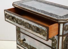 Maison Jansen Maison Jansen Eglomis Three Drawer Chest Dresser - 2027334