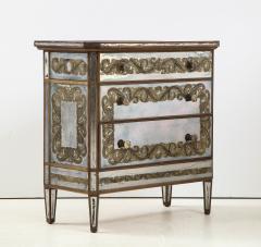 Maison Jansen Maison Jansen Eglomis Three Drawer Chest Dresser - 2027338