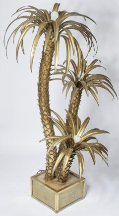 Maison Jansen Maison Jansen Palm Tree Floor Lamp - 1066329