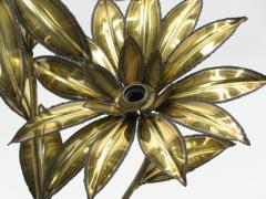 Maison Jansen Maison Jansen brass flower floor lamp 1970 s - 1504478