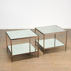 Maison Jansen PAIR OF BRONZE TWO TIER SIDE TABLES IN THE MANNER OF MAISON JANSEN - 1911429