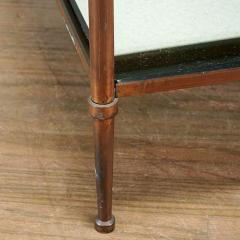 Maison Jansen PAIR OF BRONZE TWO TIER SIDE TABLES IN THE MANNER OF MAISON JANSEN - 1911430