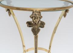 Maison Jansen Pair of Brass Side Tables - 975988