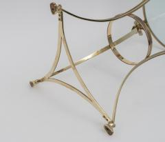 Maison Jansen Pair of Brass Side Tables - 975990