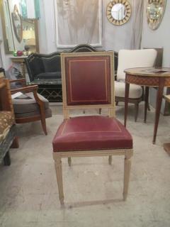 Maison Jansen Set Of Four Louis XVI Style Chairs Attributed To Maison  Jansen   330266