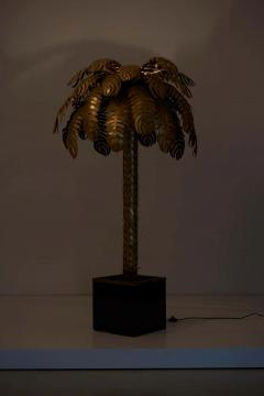 Maison Jansen Very Impressive Brass Palm Floor Lamp by Maison Jansen - 1478333