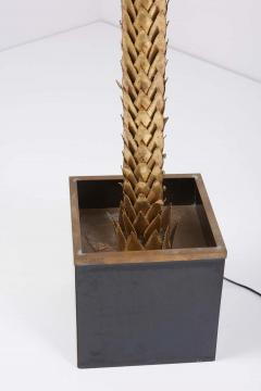 Maison Jansen Very Impressive Brass Palm Floor Lamp by Maison Jansen - 1478334
