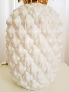 Maison Lancel LARGE CERAMIC PINEAPPLE LAMP MID CENTURY MODERN FRANCE BY MAISON LANCEL - 897055