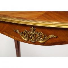 Maison Millet Maison Millet a Louis XV Style Ormolu Mounted Parquetry Kingwood Table - 1111821