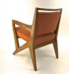Maison Raphael rarest set of 4 oak arm chairs - 1519266