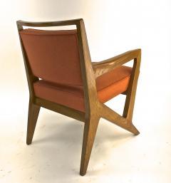 Maison Raphael rarest set of 4 oak arm chairs - 1519267