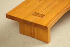 Maison Regain Low table in French Elm by Maison Regain - 1375453