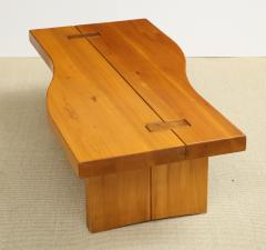 Maison Regain Low table in French Elm by Maison Regain - 1375467