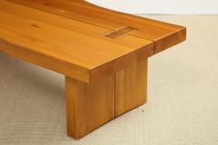 Maison Regain Low table in French Elm by Maison Regain - 1375472