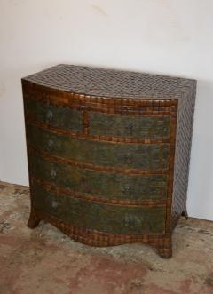 Maithland Smith Coconut Commode - 967851