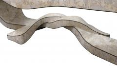 Maitland Smith Chic Coffee Table in Tesselated Stone by Maitland Smith - 142684