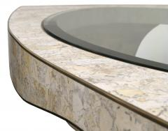 Maitland Smith Chic Coffee Table in Tesselated Stone by Maitland Smith - 142687