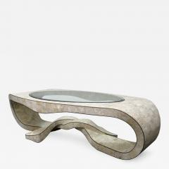 Maitland Smith Chic Coffee Table in Tesselated Stone by Maitland Smith - 142860