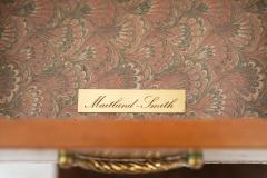 Maitland Smith French Louis XVI Style Oak and Leather Chest 1950s  - 890921