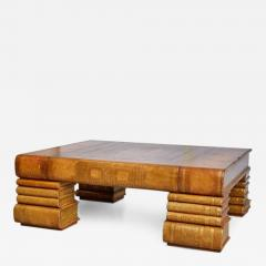 Maitland Smith Maitland Smith Oversized Embossed Leather Books Coffee Table    287625