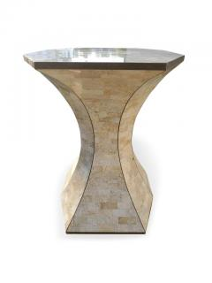 Maitland Smith Maitland Smith Tessellated Marble Bronze Inlay Console Table - 1505074