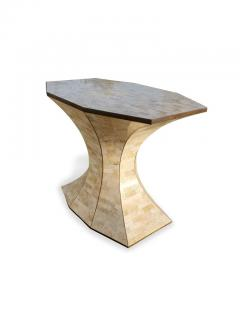 Maitland Smith Maitland Smith Tessellated Marble Bronze Inlay Console Table - 1505075