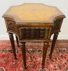 Maitland Smith Regency Style Maitland Smith Mahogany and Leather Library Book Table a Pair - 1583697