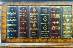 Maitland Smith Regency Style Maitland Smith Mahogany and Leather Library Book Table a Pair - 1583701