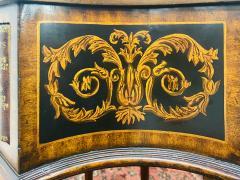 Maitland Smith Regency Style Maitland Smith Mahogany and Leather Library Book Table a Pair - 1583702