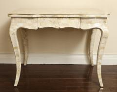 Maitland Smith Stone and brass writing desk - 757039