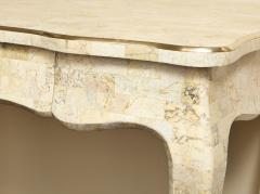 Maitland Smith Stone and brass writing desk - 757041