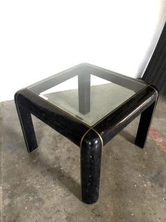 Maitland Smith Tesselated Horn Game Table or Small Dining Table by Maitland Smith - 1267237