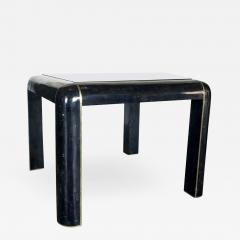 Maitland Smith Tesselated Horn Game Table or Small Dining Table by Maitland Smith - 1267627