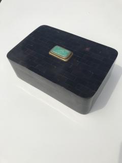 Maitland Smith Tessellated Horn Jewelry Box - 550563