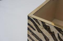 Maitland Smith Zebra Motif Storage Box - 903918
