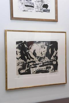 Malcolm Morley Malcolm Morley Abstract Expressionist Lithograph 1983 - 348347