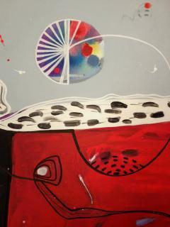Malgosia Kiernozycka Arigato Diptych Acrylic on Canvas - 1021030