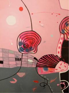 Malgosia Kiernozycka Arigato Diptych Acrylic on Canvas - 1021032