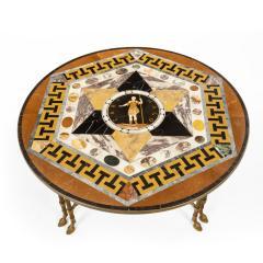 Maltese Specimen Marble Table Top Attributed to Darmanin of Malta - 1047159