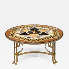 Maltese Specimen Marble Table Top Attributed to Darmanin of Malta - 1050272