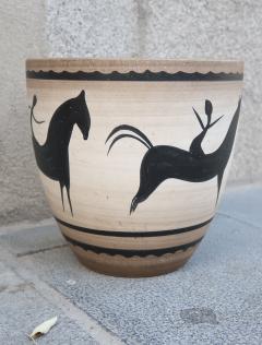 Manufacture Nationale de S vres A Ceramic Vase Signed by Sevres France 1940 - 505830