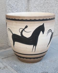 Manufacture Nationale de S vres A Ceramic Vase Signed by Sevres France 1940 - 505831