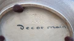 Manufacture Nationale de S vres A Ceramic Vase Signed by Sevres France 1940 - 505832